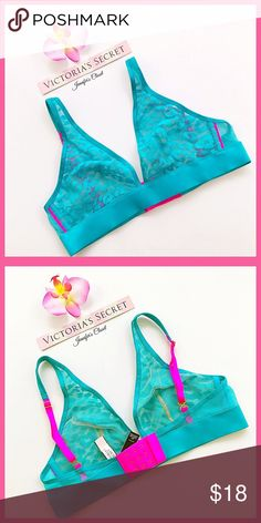 •Victoria's Secret• Lace plunge bralette V I C T O R I A 'S • S E C R E T 💞   ❥Condition: Brand new with tags  This closet does not: ✕ Trade ✕ Accept Lowballs  This closet encourages: ✓ Bundling ✓ Reasonable offers   ⓘ Unsure about your size? Go on the VS website for size chart information. Victoria's Secret Intimates & Sleepwear Bras