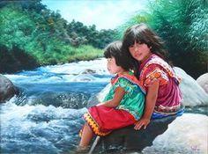 Pintura de Iván Delgado Panama