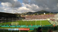 Soccer Stadium in Florence, Italy