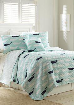 Elise & James Home™ Elise & James Home Cape Whale Quilt Collection