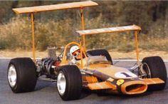 1969 John Love, Team Gunston, Lotus 49 Ford