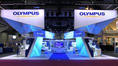 Medical exhibition stand design; Tradeshow display