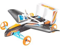 Nothing could be more futuristic than cars that take to the air and fly to their destinations. Hot Wheels is bringing that vision into reality, although in miniature versions, with the Street Hawk Remote Control Flying Car.