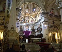 Interior de la Catedral, Guadalajara, Jal.