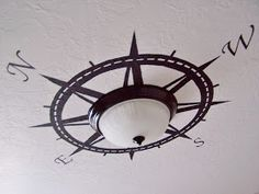Compass on the ceiling