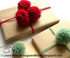 For next year... Unique Wrapping Ideas for Christmas and other Holidays via @Jenna_Burger, sasinteriors.net