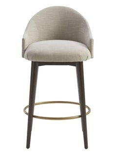 Marilyn Bar Stool with Memory Swivel - Transitional Barstools & Counter Stools - Dering Hall Upholstered Bar Stools, Swivel Counter Stools, Kitchen Stools, Blue Dining Room Chairs, Dining Arm Chair, Bar Chairs, Unique Bar Stools, Recycled Plastic Adirondack Chairs