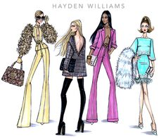 Golden Girl, Object of Desire, Look Sharp & Glamorama by Hayden Williams