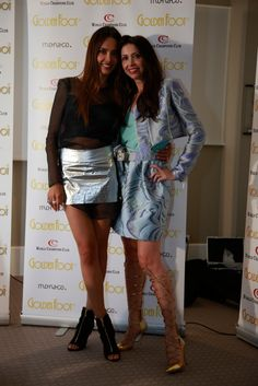Lorena wearing Joshua Fenu shoes with Patricia Contreras #lorenabaricalla #LB