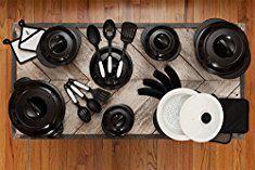 Xtrema Cookware Set. Xtrema All Natural 100% Ceramic Signature 28 Piece Cookware Set (Midnight Black).  #xtrema #cookware #set #xtremacookware #cookwareset
