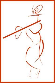 Trendy line art rose tattoo design 58 Ideas Krishna Tattoo, Krishna Drawing, Krishna Painting, Krishna Art, Radhe Krishna, Kerala Mural Painting, Indian Art Paintings, Lord Krishna Images, Krishna Pictures