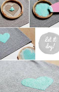 decorar ropa con pintura