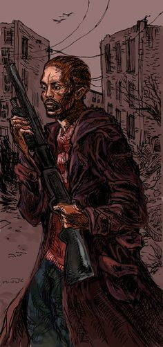 Omar Little From The Wire By Me