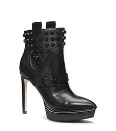 Bryn Platform Leather Ankle Boot  | Michael Michael Kors | FW 2014 | cynthia reccord #michaelkors