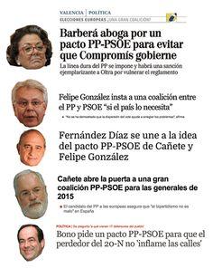 Mucha regeneración y mucho acabar con el bipartidismo... todo encaminado hacia #PSOE Hoy Cospedal lo ha insinuado pic.twitter.com/hXprLdTIcn