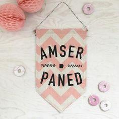 \'Amser Paned\' Banner