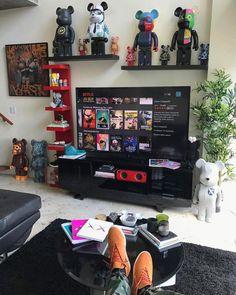 Dream Bedroom Rooms Hypebeast Room Gamer Setup My