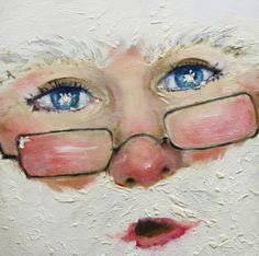 Ho Ho Ho Painting by Laura Leigh McCall - Ho Ho Ho Fine Art Prints and Posters for Sale