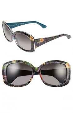 5d5a69f47e Maui Jim Women s You Move Me Polarized Sunglasses Silk White Teal One