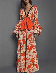 Product Sexy deep V collar pattern elastic waist trousers Brand Name Tyiva SKU Gender Women Style Elegant/Sexy/Fashion Type Jumpsuits Material Polyester Decoration Printing Please Note:All dimensions are measured manually with a deviation of 1 to Floral Jumpsuit, Printed Jumpsuit, Jumpsuit Outfit, Elegant Jumpsuit, Halter Jumpsuit, Day Dresses, Casual Dresses, Collar Pattern, Neck Pattern