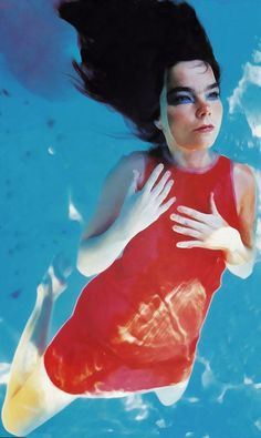 Björk, definitely one of the most interesting artists that I've ever heard…