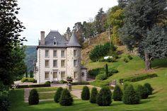 Propriété - Le château Rivière, à Thiezac, dans le Cantal - 820.000 € | Demeures de Charme