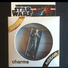 Han Solo in Carbonite, as a Jibbitz charm for Crocs.