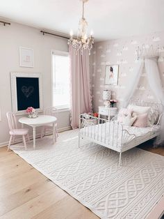 Ikea Pax hack: How to Customize a Small Closet with the Pax System – The Pink Dream – Kallax Ideas 2020 Ikea Girls Bedroom, Room Ideas Bedroom, Baby Room Decor, Bedroom Decor, Closet Bedroom, Blue Bedroom, Bedroom Wall, Little Girl Bedrooms, Tiny Bedrooms