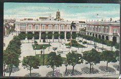 TARJETA POSTAL DE LA HABANA - PLAZA DE ARMAS. (Postales - Postales Extranjero - América - Cuba)