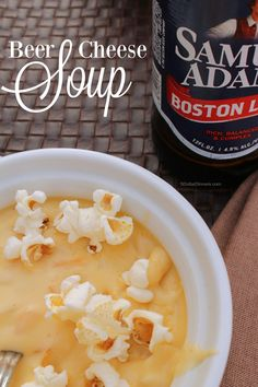 Beer Cheese Soup from 5DollarDinners.com