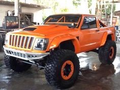 "Jeep Cherokee XJ ""Commanche"" build"