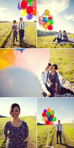 Engagement shoot: Marylou + Sean | Brooklyn Bride - Modern Wedding Blog
