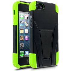 Warrior Series: Black & Neon Green iPhone 5 Case - $34.99 - #Tough #Warrior #Military