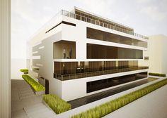 Business Architecture, Architecture Design, Commercial, Loft, Mansions, The Originals, House Styles, Building, Furniture