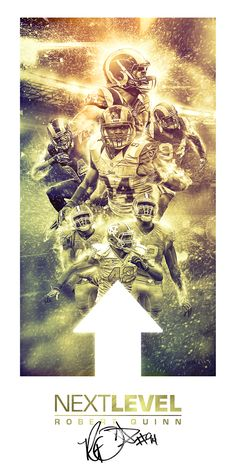 Next Level - Robert Quinn by Justin Tague, via Behance