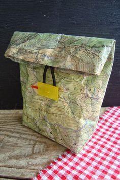 Kleefalter: kleiner Lunchbag für Wanderungen