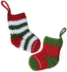Cómo tejer botitas de Navidad a crochet!