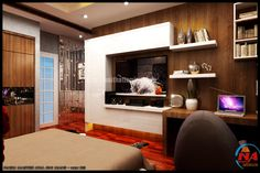 Noi that phong ngu nha chi Hang by Thiết kế nội thất, via Behance