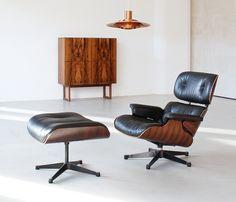 woonhome-eames-lounge-chair-donker-kleur-hout-koper-zwart-leer-design-interieur