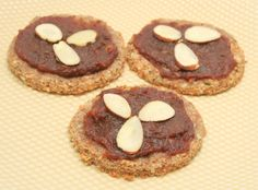 Almond Cookies - A healthy, tasty treat that's completely Daniel Fast friendly!
