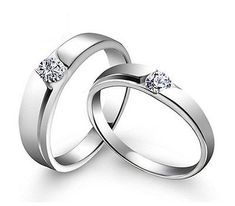 nice Sz4-11 S925 Silver Couple Ring Simple CZ Engagement Ring Women's Wedding Band - For Sale View more at http://shipperscentral.com/wp/product/sz4-11-s925-silver-couple-ring-simple-cz-engagement-ring-womens-wedding-band-for-sale/