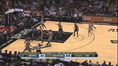 Youtube: Ginobili alley-oops to Marco Belinelli Oct. 30th 2013 1st game of the season vs. Grizzlies