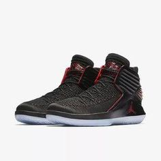 buy online 4edd8 65654 Nike Air Jordan 32 XXXII BRED PF Men s Sneakers Basketball Shoes 40-46 Nike  Air