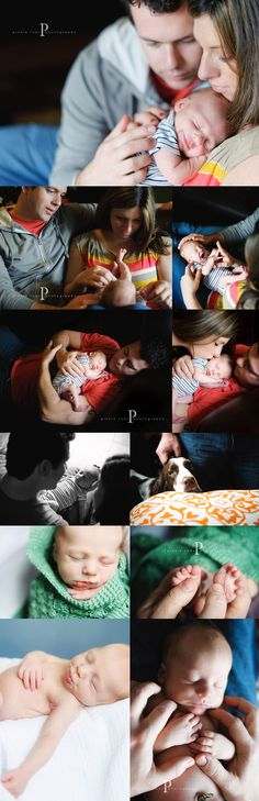 newborn shoot - pinkletoes, love that they git a cool pic of the dog too.  They are also an important part of this time in the family.