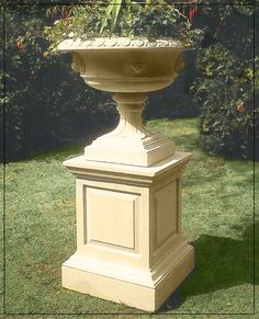 The David Sharp Studio, Masterpieces in Classical Garden Statuary, Garden Fountains and Pool Surrounds. Garden Fountains, Outdoor Decorations, Versailles, Urn, Pedestal, Vases, Palace, Planters, Outdoors
