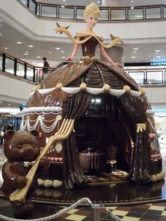 """Chocolate Kiosk "",pinned by Ton van der VeerYou can find Chocolate sculptures and more on our website.""Chocolate Kiosk "",pinned by Ton van der Veer"