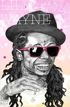 Hip Hop Illustrated Portraits humor: I told her I was going dance to the song show me how to love at her wedding, she thought that was funny. Love N Hip Hop, Hip Hop And R&b, Hip Hop Artists, Music Artists, Best Rapper Alive, Lil Wayne, My Escape, Rap Music, Looks Cool