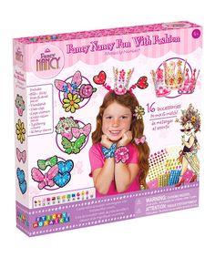 Loving this Fancy Nancy Sticky Mosaics Fun with Fashion Kit on #zulily! #zulilyfinds