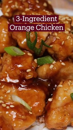 Asian Recipes, Healthy Recipes, Orange Chicken Recipes, Easy Chinese Chicken Recipes, Simple Food Recipes, Easy Recipes, Appetizer Recipes, Dinner Recipes, Chicken Recipes For Dinner