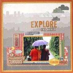 Grand Bazaar Explore The World - Scrapbook.com
